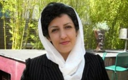 نرگس محمدی: به رشد آگاهی و مقاومت در برابر نقض حقوق بشر خوشبينم