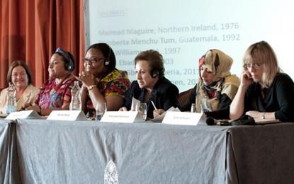 برندگان نوبل صلح: نرگس محمدی را آزاد کنید