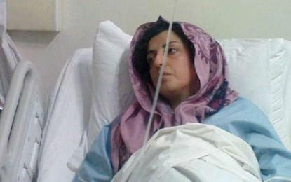 نرگس محمدی: در صورت دریافت نکردن داروهایم در زندان دست به اعتصاب غذا خواهم زد