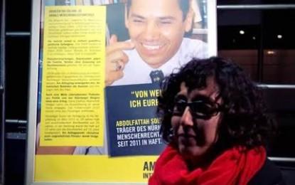 کمپین کانون وکلای نورنبرگ در پنجمین سالگرد تولد سلطانی در زندان