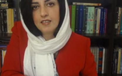 نرگس محمدی برنده جایزه سال 2015 «گاليله 2000» شد