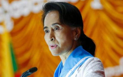 هشدار برندگان نوبل به آنگ سان سوچی نسبت به «پاکسازی قومی» اقلیت مسلمان در میانمار