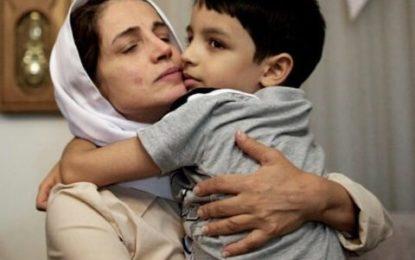 نسرین ستوده به فرزندش نیما: چگونه میتوانستم شاهد اعدام نوجوانان وطنم باشم و سکوت کنم؟