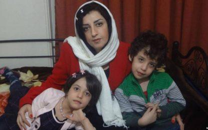 نجوای نرگس محمدی برای فرزندانش