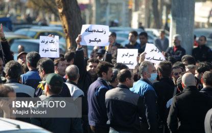 کارگران معترض به حقوق معوقه شرکت هپکو، به زندان و شلاق تعلیقی محکوم شدند