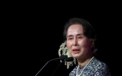 سازمان عفو بینالملل مدال اعطایی خود به آنگ سان سوچی را پس گرفت