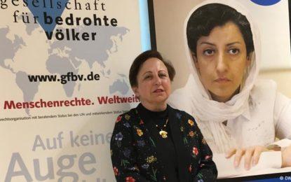 شیرین عبادی به اشپیگل: حکومت ایران از مردم هراس دارد