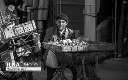 ترسِ مدام دستفروشی/ در خیابانهای شیراز چه میگذرد؟