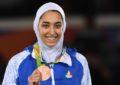 کیمیا علیزاده، قهرمان تکواندو، با پرچم آلمان در المپیک بازی میکند
