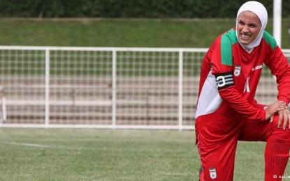 فوتبالیست زن ایرانی به دلیل مخالفت همسر از تیم ملی خط خورد