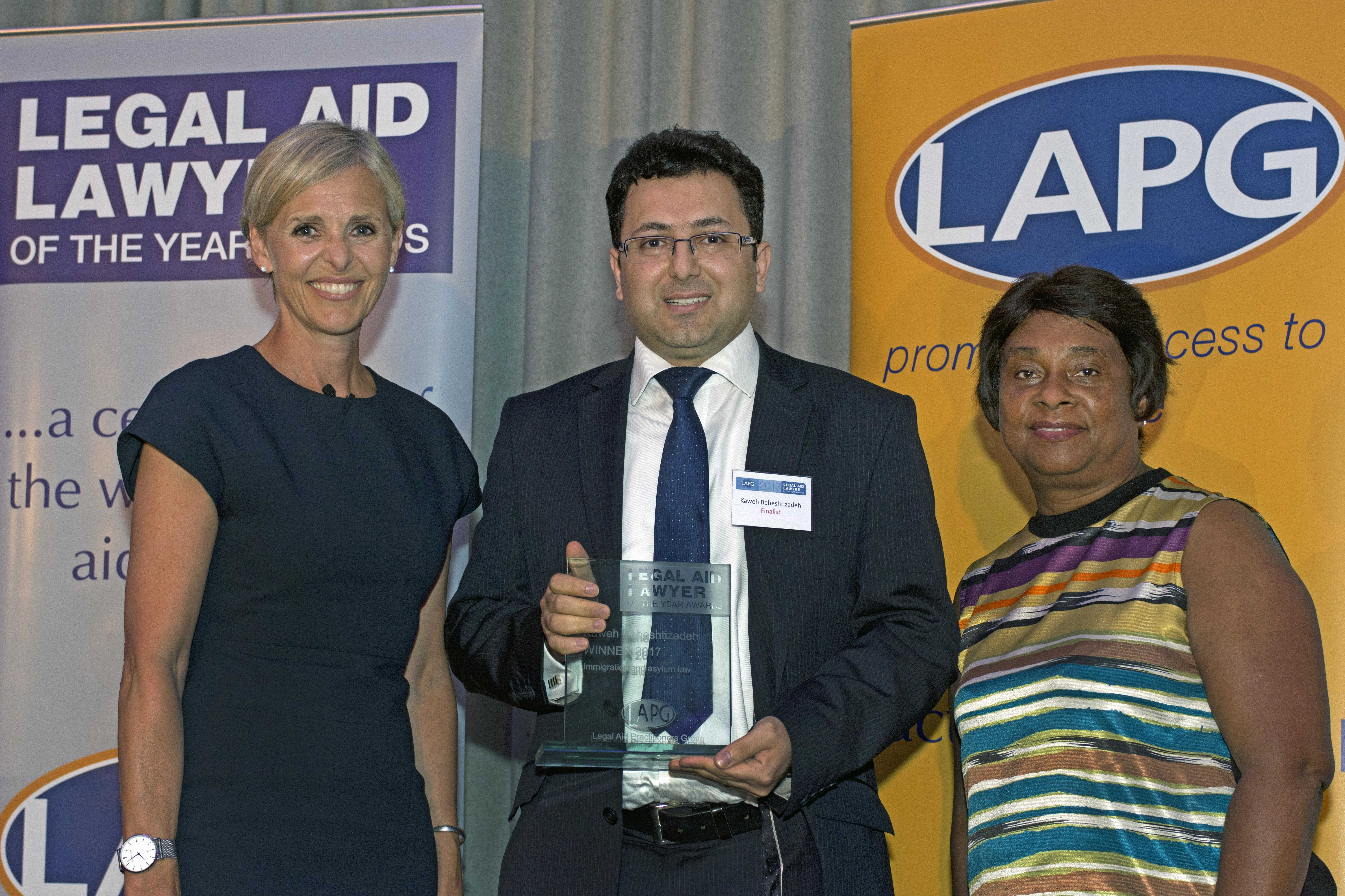05.07.2017. Photography of LAPG 'Legal Aid Lawyer of the Year Awards 2017'. Etc.venues, 155 Bishopsgate, London, EC2M 3YX. © Copyright:Robert Aberman - Photographer Tel/Fax: +44 (0)20 7263 7899 Mobile: +44 (0)7970 185 838 Email: robert@robertaberman.co.uk © Copyright: Robert Aberman - Photographer All images are copyright of Robert Aberman. They are licensed to the client for uses specified only, and by named client only. Other use must be agreed in writing and may be subject to an additional fee. All reproductions of this photograph must be credited. Moral rights are asserted in accordance with the Copyright, Designs & Patents Act 1988.