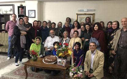 فعالان مدنی سالروز تولد نرگس محمدی را گرامی داشتند