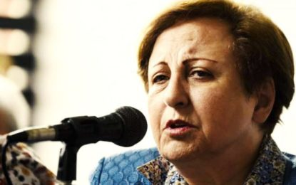 هشدارهای شیرین عبادی: فروپاشی رژیم نزدیک و خطر فروپاشی کشور جدی است