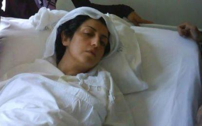 نرگس محمدی در بیمارستان بستری شد