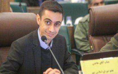 بازداشت مهدی حاجتی عضو شورای شهر شیراز پس از اعتراض به بازداشت بهاییان و مخالفت با تخریب بافت سنتی شیراز