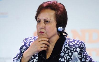 شیرین عبادی خواستار اقدام جهانی برای تضعیف حاکمان ایران شد