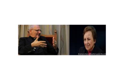 تاکید شیرین عبادی بر ضرورت جدایی دین از سیاست در اجلاس اتریش
