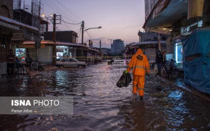 بوشهر در سیل / از تخلیه منازل حاشیه رودخانه تا ریزش آوار