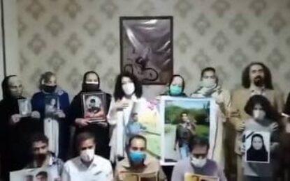 اعتراض مادران دادخواه به ظلم در ظلمت جادهای در ایران